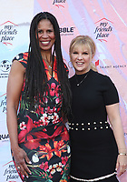 LOS ANGELES, CA - APRIL 6: Holly Frazier, Melissa Gisoni, at the Ending Youth Homelessness: A Benefit For My Friend's Place at The Hollywood Palladium in Los Angeles, California on April 6, 2019.   <br /> CAP/MPI/SAD<br /> &copy;SAD/MPI/Capital Pictures