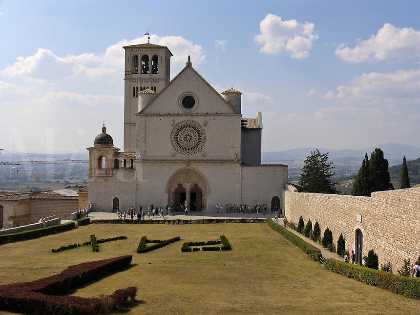 Basilica di San Francesco, Assisi, Ital