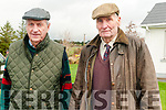 Jim Murphy & Doug McGuiness of the Harriers Hunting Club at the hunt in Mountcollins on Tuesday last.