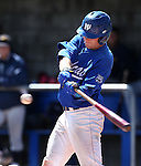 Western Nevada College's Joey Crunkilton hits against College of Southern Nevada at John L. Harvey field, on Sunday, April 27, 2014, in Carson City, Nev.<br /> Photo by Cathleen Allison/Nevada Photo Source