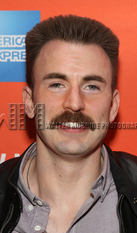 Chris Evans attends the the Broadway Opening Night Performance After Party for 'Lobby Hero' at Bryant Park Grill on March 26, 2018 in New York City.