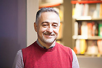 Matteo Bianchi, autor novelist , jornalist, autor TV, translator and editor fiction. Milan 6 march 2019. © Leonardo Cendamo