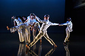"""Leeds, UK. 28.11.2018. Second Year students of BA (Hons) Dance (Contemporary), at the Northern School of Contemporary Dance, present NEW GROUND, in the RIley Theatre. This piece is: """"Becoming"""" by choreographer Patricia Okenwa. the dancers are: Imogen Cooper, Laura Goodwin, Rickay Hewitt-Martin, Leah Jones, Adanna Lawrence, George Swattridge, Oliver Mozley, Louis Thato Partridge, Shahada Nataba. Photograph © Jane Hobson."""