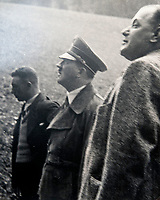 BNPS.co.uk (01202 558833)<br /> Pic: Jones&Jacob/BNPS<br /> <br /> Hitler and his cronies in Berchtesgaden before the war<br /> <br /> Springtime for Hitler...Chilling album of pictures taken by one of Hitlers bodyguards illustrates the Nazi dictators rise to power.<br /> <br /> An unseen album of photographs taken by a member of Hitlers own elite SS bodyguard division in the years leading up to the start of WW2.<br /> <br /> The 1st SS Panzer Division 'Leibstandarte SS Adolf Hitler' or LSSAH began as Adolf Hitler's personal bodyguard in the 1920's responsible for guarding the Führer's 'person, offices, and residences'.
