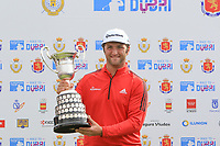 Jon Rahm (ESP) winner of the Open de Espana 2018 at Centro Nacional de Golf on Sunday 15th April 2018.<br /> Picture:  Thos Caffrey / www.golffile.ie<br /> <br /> All photo usage must carry mandatory copyright credit (&copy; Golffile | Thos Caffrey)
