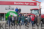 Abbeydorney Ploughing  Match : Paudie Buckley of Buckley's Agri, Listowel hands sponsorship cheque to Jimmy Lawlor, President Abbeydorney Ploughin committee  in Listowel last Thursday. Front : Dodo O'Connell, Frank Egan, Willie Keane, Sonja Buckley, Henry Buckley, Paudie Buckley, Jimmy Lawlor, Katelyn & Tommy McCarthy, Aeneas Horan & Pat Hayes. Centre: Ger McCarthy & D J O'Connell. Back : John Lawlor & Noel Mulvihill.