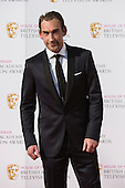 London, UK. 8 May 2016. Joseph Mawle. Red carpet  celebrity arrivals for the House Of Fraser British Academy Television Awards at the Royal Festival Hall.