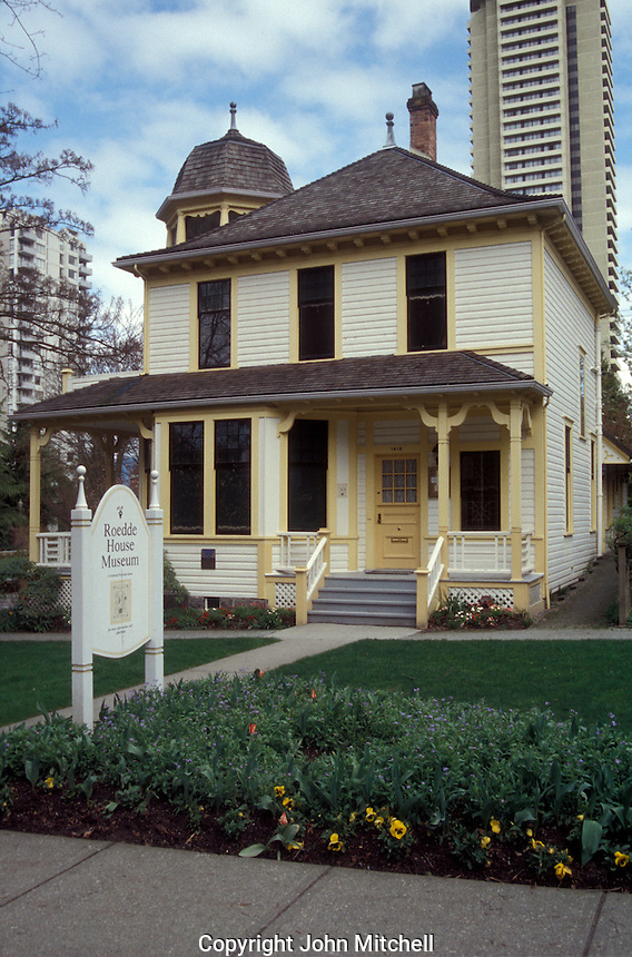 The Roedde House Museum in Vancouver, British Columbia, Canada