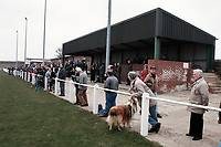 General view of Easington Colliery AFC Football Ground, Welfare Park, Easington, County Durham, pictured on 6th April 1996