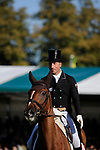 Stamford, Lincolnshire, United Kingdom, 5th September 2019, Tim Price (NZL) & Bango during the Dressage Phase on Day 1 of the 2019 Land Rover Burghley Horse Trials, Credit: Jonathan Clarke/JPC Images