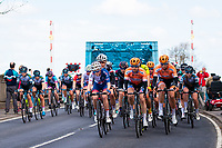 Picture by Alex Whitehead/SWpix.com - 03/05/2018 - Cycling - 2018 Asda Women's Tour de Yorkshire - Stage 1: Beverley to Doncaster - Megan Barker of Great Britain in action.