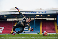 BLACKBURN, ENGLAND - JANUARY 24:   Lukasz Fabianski of Swansea City warms up during the FA Cup Fourth Round match between Blackburn Rovers and Swansea City at Ewood park on January 24, 2015 in Blackburn, England.  (Photo by Athena Pictures/Getty Images)