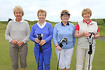 Pat Delany, Mary McElhinney, Eileen Regan and Rita Long<br /> at the East meath hospice golf classic in L&B golf club<br /> Picture:  Fran Caffrey / www.newsfile.ie