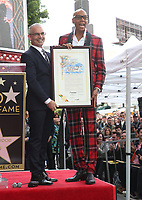 MAR 16 RuPaul Honored With Star On The Hollywood Walk Of Fame