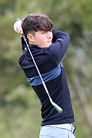 Eoin McGrath (Athlone) on the 1st tee during the Connacht U12, U14, U16, U18 Close Finals 2019 in Mountbellew Golf Club, Mountbellew, Co. Galway on Monday 12th August 2019.<br /> <br /> Picture:  Thos Caffrey / www.golffile.ie<br /> <br /> All photos usage must carry mandatory copyright credit (© Golffile | Thos Caffrey)