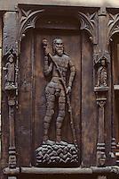 Europe/France/Auverne/63/Puy-de-Dôme/Parc naturel Régional du Livradois-Forez/Thiers: La maison de l'homme des bois XVème siècle