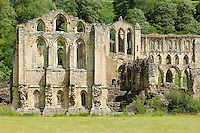 Founded in 1131, Rievaulx Abbey, near Helmsley, North Yorkshire, was the first Cistercian monastery to be built in northern England and it remains one of the most magnificent monastic houses in the country.