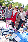 Yoyogi Free Market, April 29th 2013, Tokyo, Japan.<br /> <br /> Tokyo has lots of flea markets, but one stands above all: the Yoyogi Flea Market, located conveniently close to Harajuku and Shibuya. The vendors are mostly young people mainly selling a variety of hand-made and branded clothes and accessories. (Photo by Kjeld Duits/Japanese Streets/AFLO)<br /> <br /> The market began in 1981, and is officially called the Yoyogi Free Market. On a busy day there may be up to 800 vendors<br /> <br /> The market is intended to happen monthly although the schedule can be irregular. It is a great place to people watch and to find some cool things.