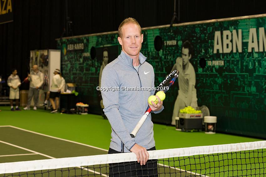Rotterdam, The Netherlands, 14 Februari 2019, ABNAMRO World Tennis Tournament, Ahoy, Mark Derksen, Coach,<br /> Photo: www.tennisimages.com/Henk Koster