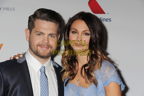 "Jack Osbourne, Lisa Stelly, Hyatt Regency Century Plaza, Century City, California, USA -- Jack Osbourne and Lisa Stelly arriving at the 20th Annual Race To Erase MS Gala ""Love To Erase MS"" at the Hyatt Regency Century Plaza in Century City, California, USA 3rd May 2013. .CAP/ROT/TM.©Tony Michaels/Roth Stock/Capital Pictures"