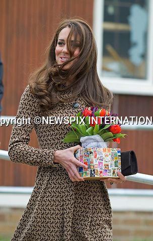 """CATHERINE, DUCHESS OF CAMBRIDGE .as Patron of Art Room visits the Oxford Spires Academy School, Oxford_21/02/2012.MANDATORY PHOTO CREDIT:©FRANCIS DIAS - NEWSPIX INTERNATIONAL..Mandatory credit photo:NEWSPIX INTERNATIONAL(Failure to credit will incur a surcharge of 100% of reproduction fees)..**ALL FEES PAYABLE TO: """"NEWSPIX  INTERNATIONAL""""**..Newspix International, 31 Chinnery Hill, Bishop's Stortford, ENGLAND CM23 3PS.Tel:+441279 324672.Fax: +441279656877.Mobile:  07775681153.e-mail: info@newspixinternational.co.uk"""