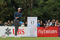Paul Peterson (USA) on the 17th tee during Round 3 of the UBS Hong Kong Open, at Hong Kong golf club, Fanling, Hong Kong. 25/11/2017<br /> Picture: Golffile | Thos Caffrey<br /> <br /> <br /> All photo usage must carry mandatory copyright credit     (&copy; Golffile | Thos Caffrey)