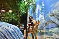 SÃO PAULO,SP - 21.04.2017 - ARNOLD-CLASSIC - Movimentação do público, durante evento Arnold Classic South America, realizado no Transamérica Expo Center, zona sul de São Paulo (SP), na manhã desta sexta-feira, 21. O Arnold Classic faz sua estreia em São Paulo, após quatro anos no Rio de Janeiro, com números superlativos. (Foto: Eduardo Carmim/Brazil Photo Press)