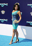 WESTWOOD, CA- SEPTEMBER 07: Actress Juli Goldstein arrives at the Los Angeles premiere of 'Dolphin Tale 2' at Regency Village Theatre on September 7, 2014 in Westwood, California.