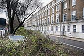 Improvement works, Wilson House (Imperial College), Sussex Gardens, Paddington.
