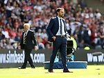 England's Gareth Southgate looks on during the FIFA World Cup Qualifying match at Hampden Park Stadium, Glasgow Picture date 10th June 2017. Picture credit should read: David Klein/Sportimage