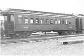 Coach #306 at Gunnison.<br /> D&amp;RGW  Gunnison, CO  Taken by Richardson, Robert W. - 9/18/1948