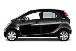 Car Driver side profile view of a 2016 Citroen C-Zero Confort 5 Door Micro Car Side View