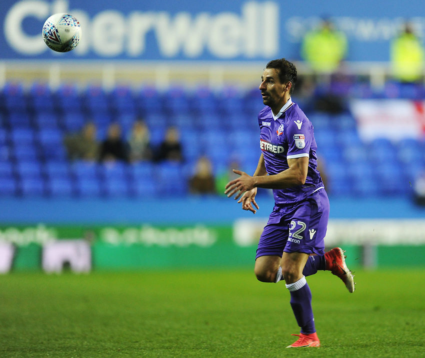 Bolton Wanderers' Filipe Morais<br /> <br /> Photographer Kevin Barnes/CameraSport<br /> <br /> The EFL Sky Bet Championship - Reading v Bolton Wanderers - Tuesday 6th March 2018 - Madejski Stadium - Reading<br /> <br /> World Copyright &copy; 2018 CameraSport. All rights reserved. 43 Linden Ave. Countesthorpe. Leicester. England. LE8 5PG - Tel: +44 (0) 116 277 4147 - admin@camerasport.com - www.camerasport.com