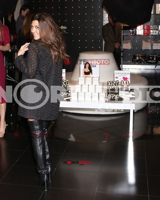 LAS VEGAS, NV - January 19 : Kourtney Kardashian appears at Kardashian Kaos Store at Te Mirage in Las Vegas, Nevada on January 19, 2013. © Kabik/ Starlitepics / MediaPunch Inc. /NortePhoto