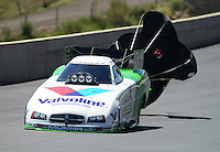 Jul, 22, 2012; Morrison, CO, USA: NHRA funny car driver Jack Beckman during the Mile High Nationals at Bandimere Speedway. Mandatory Credit: Mark J. Rebilas-