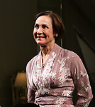 """Laurie Metcalf during the Opening Night Curtain Call for """"Three Tall Women"""" at the Golden Theatre on 3/29/2018 in New York City."""