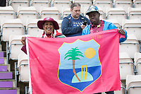 Flying the flag for the West Indies during England vs West Indies, ICC World Cup Cricket at the Hampshire Bowl on 14th June 2019