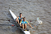 Crew: 8  Cambridge 99 Rowing Club - Op 2x Intermediate<br /> <br /> Pairs Head 2019<br /> <br /> To purchase this photo, or to see pricing information for Prints and Downloads, click the blue 'Add to Cart' button at the top-right of the page.