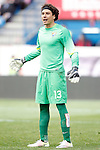 Malaga CF's Guillermo Ochoa during La Liga match. April 23,2016. (ALTERPHOTOS/Acero)