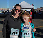 Jen and 11-year old Abby during the Run with the Girls event at Damonte Ranch High School on Sunday, Nov. 5, 2017.