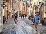 Pedestrian street, Ravenna, Italy