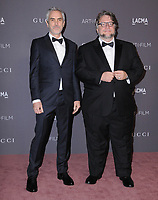04 November  2017 - Los Angeles, California - Alfonso Cuaron, Guillermo del Toro. 2017 LACMA Art+Film Gala held at LACMA in Los Angeles. <br /> CAP/ADM/BT<br /> &copy;BT/ADM/Capital Pictures