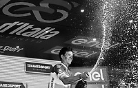 podium ceremony for stage winner Bob Jungels (LUX/Quick-Step Floors)<br /> <br /> Stage 15: Valdengo &rsaquo; Bergamo (199km)<br /> 100th Giro d'Italia 2017