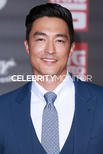 HOLLYWOOD, LOS ANGELES, CA, USA - NOVEMBER 04: Daniel Henney arrives at the Los Angeles Premiere Of Disney's 'Big Hero 6' held at the El Capitan Theatre on November 4, 2014 in Hollywood, Los Angeles, California, United States. (Photo by David Acosta/Celebrity Monitor)
