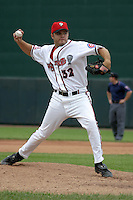 August 31, 2003:  P.J. Benik of the Lansing Lugnuts during a game at Cooley Stadium in Lansing, Michigan.  Photo by:  Mike Janes/Four Seam Images