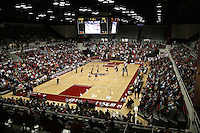 8 October 2005: Action during Stanford's 3-1 loss to Washington at Maples Pavilion in Stanford, CA.