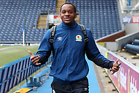 Blackburn Rovers' Ryan Nyambe arrive at the ground for todays match<br /> <br /> <br /> Photographer Rachel Holborn/CameraSport<br /> <br /> The EFL Sky Bet League One - Blackburn Rovers v Blackpool - Saturday 10th March 2018 - Ewood Park - Blackburn<br /> <br /> World Copyright &copy; 2018 CameraSport. All rights reserved. 43 Linden Ave. Countesthorpe. Leicester. England. LE8 5PG - Tel: +44 (0) 116 277 4147 - admin@camerasport.com - www.camerasport.com