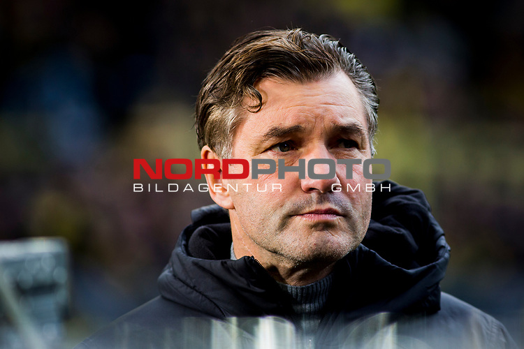 09.02.2019, Signal Iduna Park, Dortmund, GER, 1.FBL, Borussia Dortmund vs TSG 1899 Hoffenheim, DFL REGULATIONS PROHIBIT ANY USE OF PHOTOGRAPHS AS IMAGE SEQUENCES AND/OR QUASI-VIDEO<br /> <br /> im Bild | picture shows:<br /> Michael Zorc (Sportdirektor BVB), <br /> <br /> Foto &copy; nordphoto / Rauch