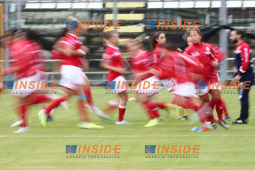 Malta during the warm up<br /> Castel di Sangro 12-11-2019 Stadio Teofolo Patini <br /> Football UEFA Women's EURO 2021 <br /> Qualifying round - Group B <br /> Italy - Malta<br /> Photo Cesare Purini / Insidefoto