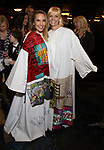Katie Webber and Jennifer Foote during the Actors' Equity Gypsy Robe Ceremony honoring Katie Webber for  'Charlie and the Chocolate Factory' at the Lunt-Fontanne Theatre on April 23, 2017 in New York City.